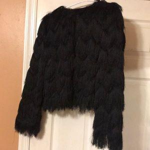 Jackets & Blazers - Fur Zara crop jacket